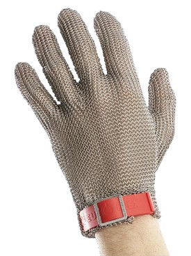 Gloves Stainless Steel 5 Finger without Cuff